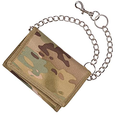 Kombat UK Unisex Military Wallet on Chain, Ultimate Terrain Pattern,