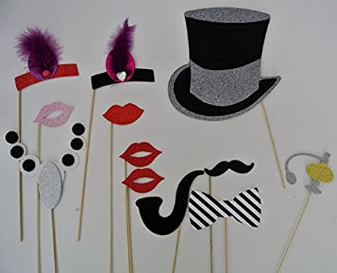 Photo Booth Props 1920 Inspired Props Great Gatsby Era