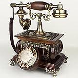 Alt antiker stil knopf dial schreibtisch telefon zuhause wohnzimmer dekor-A