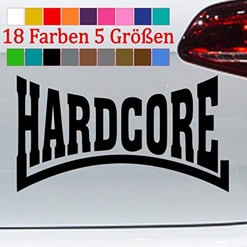 Generic Hardcore Aufkleber Lonsdale London Punk Bumper Sticker VW GTI 18 Farben 5 Größen