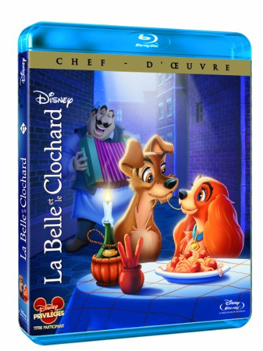 La Belle et le clochard [Blu-ray]
