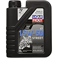 Liqui Moly 2555 Street 4T Motoröl 15 W-50 1 Liter