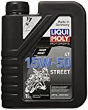 Liqui Moly Motorbike 4T 15W-50 Street Synthetic Technology Engine Oil - 1 Lt