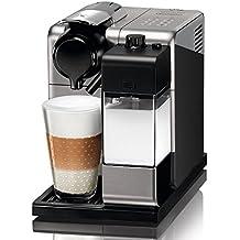 Nespresso EN550.S Lattissima Touch 1400 W, 1 Cups, Plástico, Plateado
