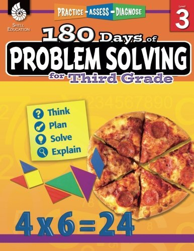 180 Days of Problem Solving for Third Grade (180 Days of Practice) by Kristin Kemp (2016-10-03)