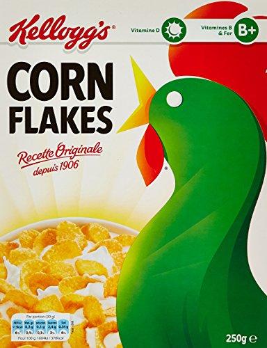 Kellogg's Céréales Original Corn Flakes 250 g - Lot de 5
