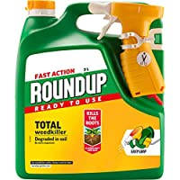 Roundup Fast Action Weedkiller Ready To Use Spray, 3 L