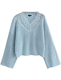 Suchergebnis Auf Amazonde Für Lochmuster Pullover Blau Bekleidung