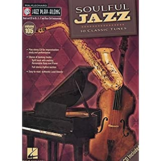 Jazz Play-Along Volume 105 Soulful Jazz All Instruments Book/Cd (Hal Leonard Jazz Play Along Series Hal Leonard Jazz Play Alo)
