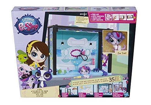 Hasbro A8542ES0 - Littlest Pet Shop kleine Tierchenwelt Spa Style Set (Littlest Pet Shop Style Set)