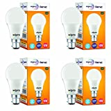 #3: Wipro Garnet 10-Watt LED Bulb (Pack of 4, Cool Day Light)