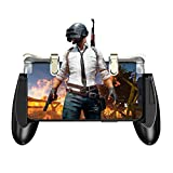 GameSir F2 Mobile Game Controller, Sensitive Shoot Fire and Aim Buttons for PUBG Firstick Protective Case for 4.5in-6.4in Android IOS Phone Grip