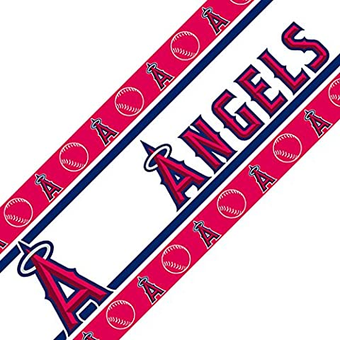 MLB Los Angeles Angels Wall Border, 05 x 15, Multicolor