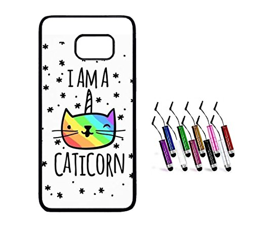 Coque-silicone-BUMPER-souple-SAMSUNG-galaxy-S5-mini-Caticorn-chat-a-licorne-unicorn-SWAG-motif-2-DESIGN-case-STYLET