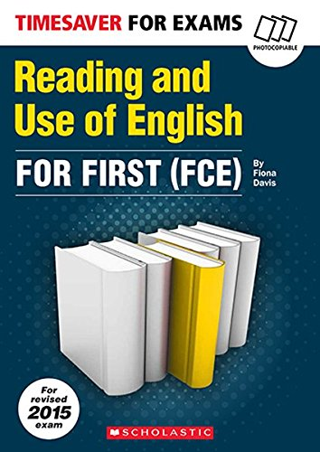 Reading and Use of English for First FCE Timesaver