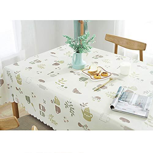 GZ-Tischdecke/idyllische Tischdecke/wasserdicht und ölbeständig verbrühschutz Einweg-Tischdecke/PVC Kunststoff Tischdecke/Tee Tischset Nachttisch Tuch