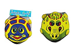 Dragon & Turtle Soft Foam Frisbees for Toddle Saftey Flying Discs