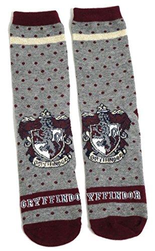 Harry Potter Ladies Gryffindor School House Spotty Socks UK 4-8 USA 6-10
