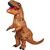 Inflatable Dinosaur T-Rex Costume Party Fancy Dress Cosplay Outfit