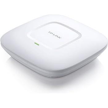 TP-Link EAP120 Punto D'Accesso Gigabit Wireless N, 300 Mbps con Montaggio a Parete, Bianco