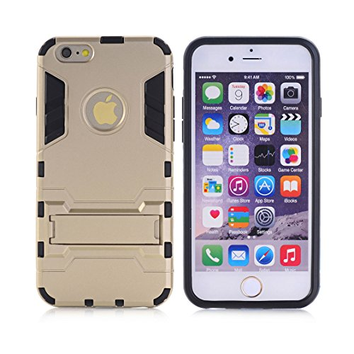 Custodia iPhone 6S,iPhone 6 copertura,[Heavy Duty]Corpo duro protettivo Armour Duro Layer ibrido PC + TPU con armadio [Shockproof] Case cover per iPhone 6S/6 4.7inch # 1