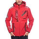 94Y5 Amazon II Geographical Norway Rainman Herren Softshell Rot Gr. S