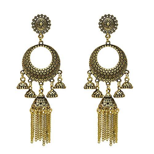 LHWY Damen Unregelmäßig geformte Perle geknotet geometrische Quadrat kreative Ohrringe Damen Schmuck