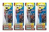 PEZ Spender Set Justice League (4 PEZ Spender/2 Sortimente mit je 3 PEZ Bonbons á 8,5g) + 2 Nachfüllpacks (8 PEZ Bonbons á 8,5g)
