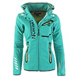 95V5 Geographical Norway Reveuse II Lady SP612F/GN Softshelljacke Lagune S