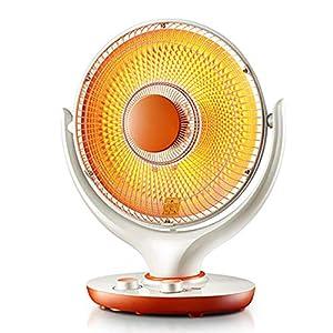 LANLAU Calentador, Ventilador Eléctrico del Calentador Personal con Oscilación Automática, para Oficina Y Hogar, 2 Modos, Protección contra Sobrecalentamiento Y Vuelco, Temporizador 11