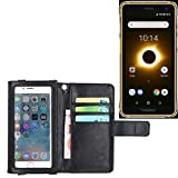 K-S-Trade® Wallet Case Flip Cover For Ruggear RG650 With