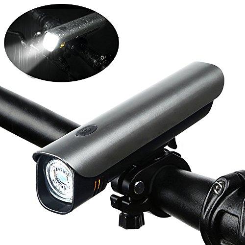 LED Fahrradbeleuchtung Frontlichter 2600mAh Akku USB Wiederaufladbare 60Lux Fahrradlicht Fahrradlampe