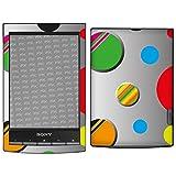 Sony PRS-T1 Reader Designfolie 'Hard Bubbles' Skin Aufkleber für PRS-T1 Reader