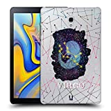 Head Case Designs Jungfrau Sternbild Der Sternzeichen Ruckseite Hülle für Samsung Galaxy Tab A 10.5 (2018)
