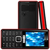 KECHAODA-ONEANTWO D3 Dual SIM Multimedia Mobile With Vibration(Black Red)