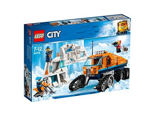 LEGO City – Le véhicule à chenilles d'exploration – 60194 – Compatible LEGO Boost – Jeu de Construction –