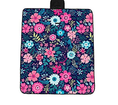 Digital-tücher (WDSZY Picknickmatte Kleine Blumen Digital Oxford Tuch Faltbare Strandmatte Wasserdicht Feuchtigkeitsauflage300X300Cm)