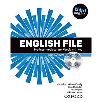 English File Pre-intermediaire Workbook with key (1Cédérom)