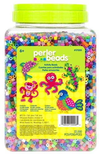 Perler Beads Perlenbehälter, Mehrfarbig, 22.000 Stück 1 Pack