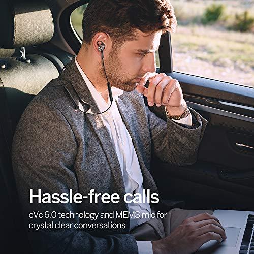 Noise Cancelling Kopfhörer TaoTronics Bluetooth 4.2 ANC In Ear Kopfhörer mit Nackenbügel und integrierten Magneten, IPX5, CVC 6.0 geräuschunterdrückendem Mems Mikrofon - 4