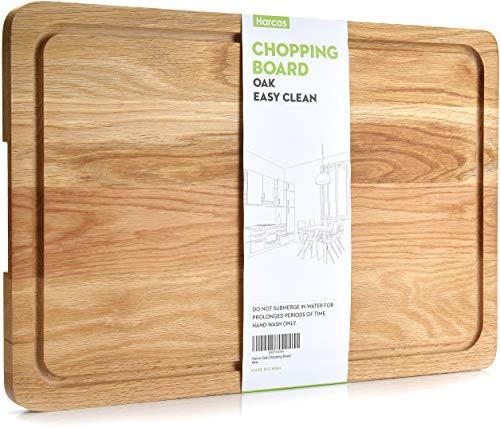Tabla cortar madera roble Premium. Tabla corte extra