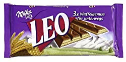 Milka - Leo, Wafer Bar With Milk Chocolate, 3-pack - 99.9gr