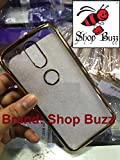 Shop Buzz Chrome Cover for Motorola G4 Plus (GOLD Colour) - Soft Silicon for MOTO G Plus 4th Gen with Golden Sides