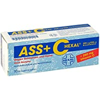 ASS+C HEXAL gegen Schmerzen und Fieber 10 stk preisvergleich bei billige-tabletten.eu