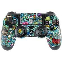Sony Playstation 4- Funda protectora adhesiva para mando de PS4 (también PS4Slim & PS4Pro), Jewel Thief