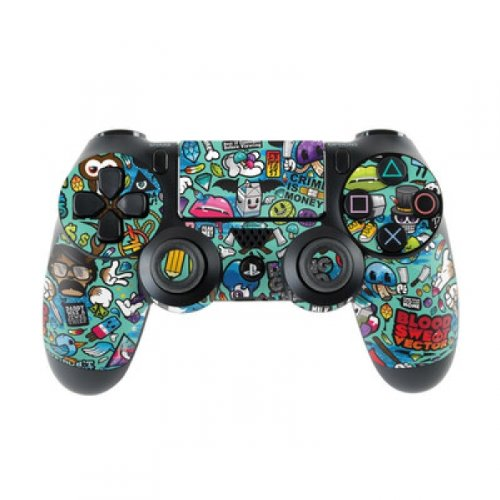Skins4u Sony Playstation 4 Skin PS4 Controller Skins Design Sticker Aufkleber styling Set auch für Slim & Pro - Jewel Thief