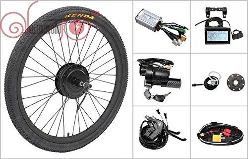 48V 500W 8fun Bafang Freehub Cassette Type Hub Motor 28inch Rear Wheel Electric Bike Conversion Kit Ebike
