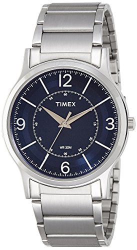 Timex Classics Analog Blue Dial Men's Watch-TI000R41700