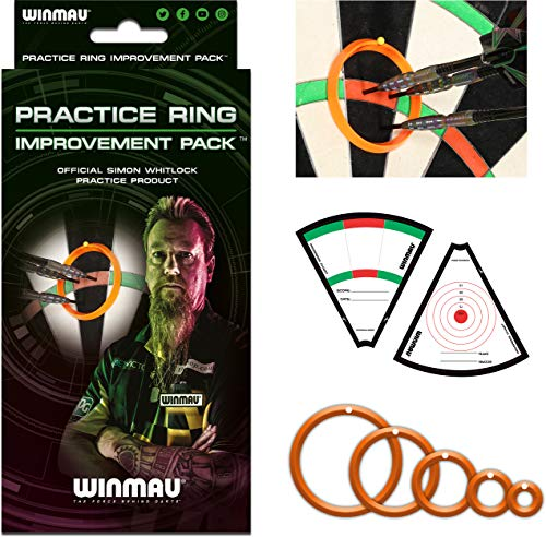 Winmau Simon Whitlock's Practice Ring Improvement Pack Dart Dartzubehör Trainings Ringe Neuheit 2019
