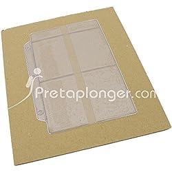 Etuis plastifiés pour cartes PADI tous niveaux